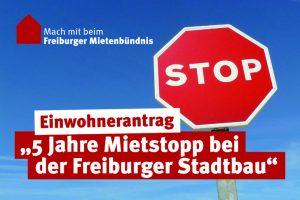 5 Jahre Mietstopp bei der Freiburger Stadtbau